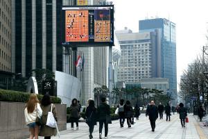 Seul sokaklarında AlphaGo - Lee Sedol, 4. maç