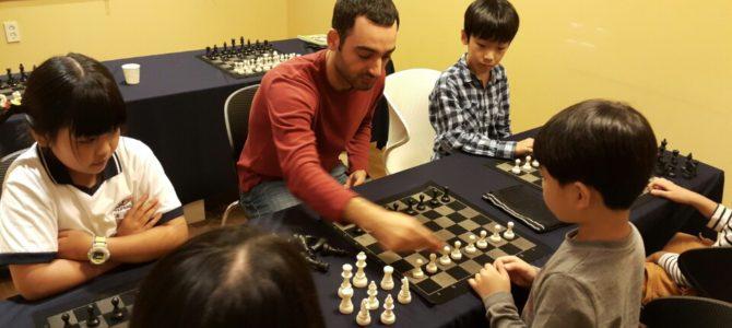 Kore'de Çocuklara Satranç Öğretmek